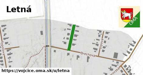 ilustrácia k Letná, Vojčice - 136m