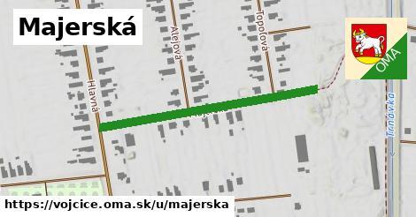 ilustrácia k Majerská, Vojčice - 395m