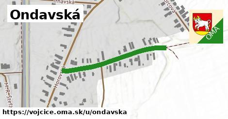 ilustrácia k Ondavská, Vojčice - 350m