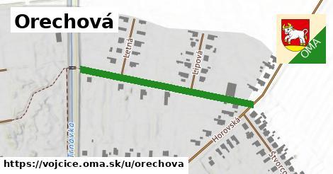 ilustrácia k Orechová, Vojčice - 393m