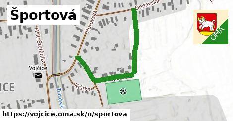 ilustračný obrázok k Športová, Vojčice