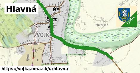 ilustrácia k Hlavná, Vojka - 1,64km