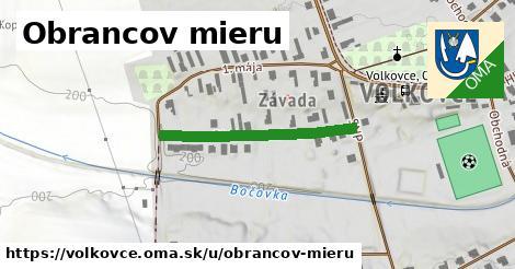 ilustrácia k Obrancov mieru, Volkovce - 286m
