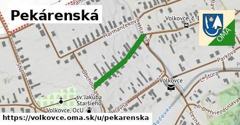ilustrácia k Pekárenská, Volkovce - 224m
