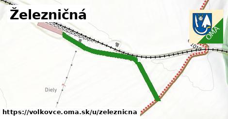 ilustrácia k Železničná, Volkovce - 368m