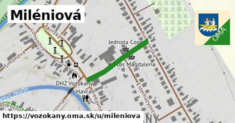 ilustrácia k Miléniová, Vozokany - 228m