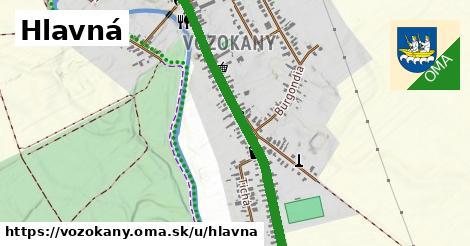 ilustrácia k Hlavná, Vozokany - 2,8km