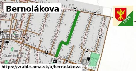 ilustrácia k Bernolákova, Vráble - 625m