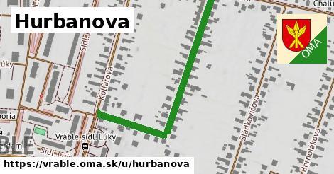 ilustrácia k Hurbanova, Vráble - 510m