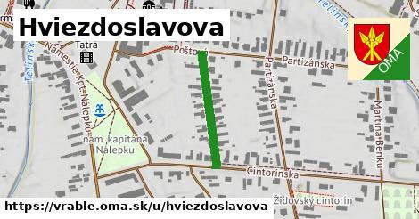 ilustrácia k Hviezdoslavova, Vráble - 209m