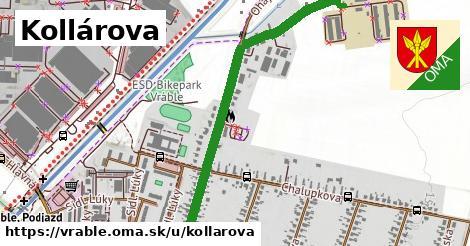 ilustrácia k Kollárova, Vráble - 1,24km