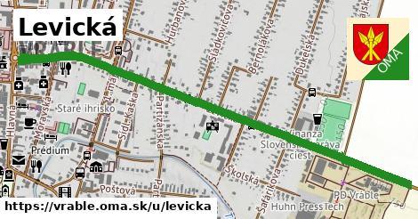 ilustrácia k Levická, Vráble - 1,53km