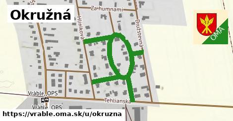 ilustrácia k Okružná, Vráble - 0,73km