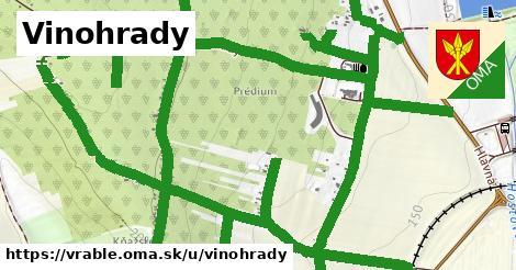 ilustračný obrázok k Vinohrady, Vráble
