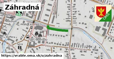 ilustrácia k Záhradná, Vráble - 151m