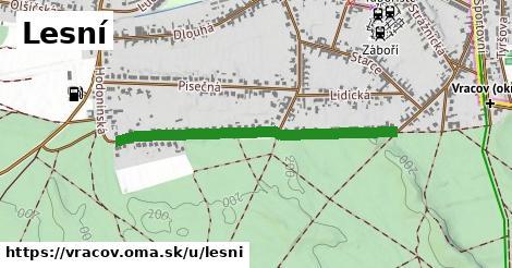 ilustrácia k Lesní, Vracov - 0,82km