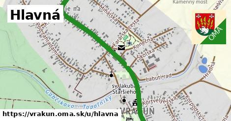 ilustrácia k Hlavná, Vrakúň - 0,88km