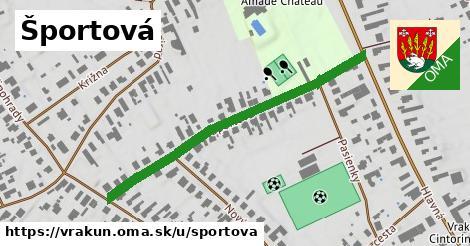 ilustrácia k Športová, Vrakúň - 477m