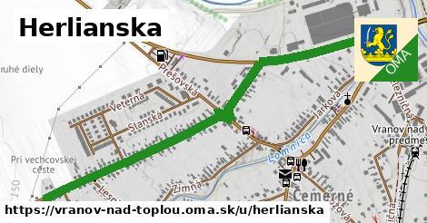 ilustrácia k Herlianska, Vranov nad Topľou - 218m