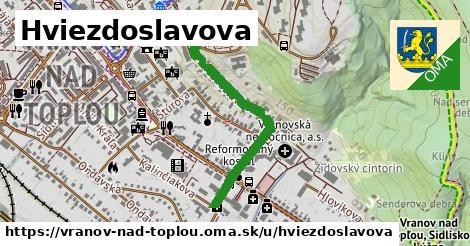 ilustrácia k Hviezdoslavova, Vranov nad Topľou - 665m