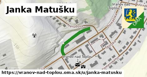 ilustrácia k Janka Matušku, Vranov nad Topľou - 216m