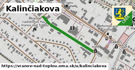 ilustrácia k Kalinčiakova, Vranov nad Topľou - 341m