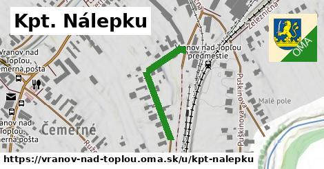 ilustrácia k Kpt. Nálepku, Vranov nad Topľou - 270m
