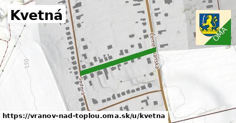ilustrácia k Kvetná, Vranov nad Topľou - 247m