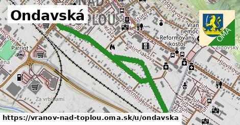 ilustrácia k Ondavská, Vranov nad Topľou - 1,25km
