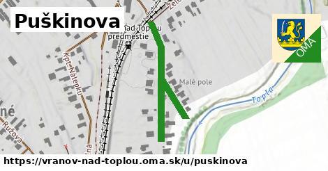 ilustrácia k Puškinova, Vranov nad Topľou - 377m
