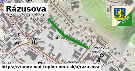 ilustrácia k Rázusova, Vranov nad Topľou - 279m