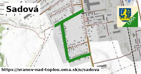 ilustrácia k Sadová, Vranov nad Topľou - 0,99km