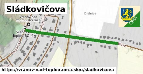 ilustrácia k Sládkovičova, Vranov nad Topľou - 484m