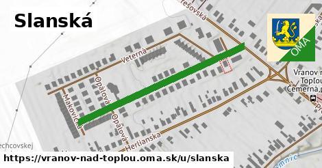 ilustrácia k Slanská, Vranov nad Topľou - 337m