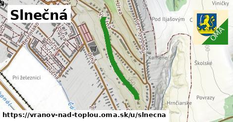 ilustrácia k Slnečná, Vranov nad Topľou - 580m
