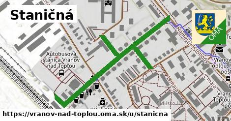 ilustrácia k Staničná, Vranov nad Topľou - 650m