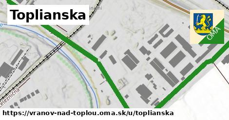 ilustrácia k Toplianska, Vranov nad Topľou - 667m