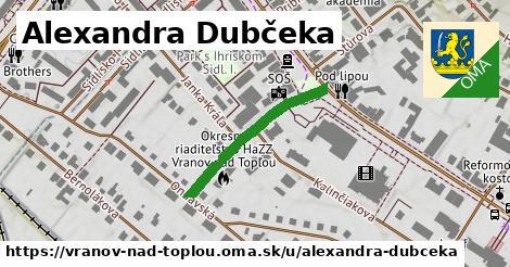 ilustrácia k Alexandra Dubčeka, Vranov nad Topľou - 257m