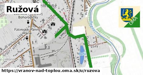 ilustrácia k Ružová, Vranov nad Topľou - 1,49km
