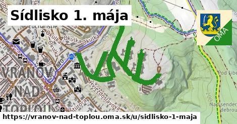 ilustrácia k Sídlisko 1. mája, Vranov nad Topľou - 1,75km