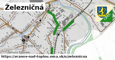 ilustrácia k Železničná, Vranov nad Topľou - 0,75km