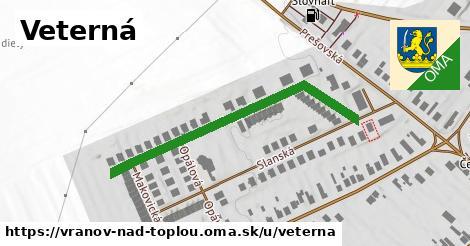 ilustrácia k Veterná, Vranov nad Topľou - 436m
