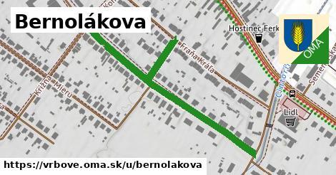ilustrácia k Bernolákova, Vrbové - 473m