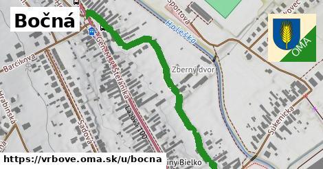 ilustrácia k Bočná, Vrbové - 573m