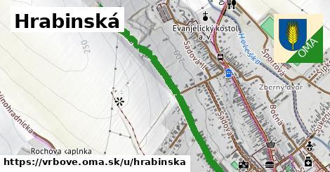 ilustrácia k Hrabinská, Vrbové - 0,95km