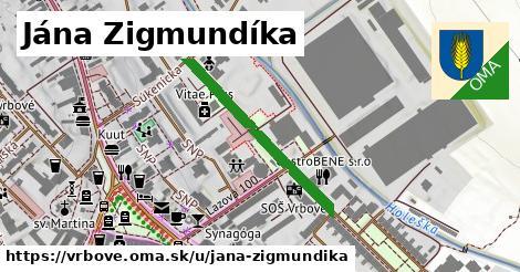 ilustračný obrázok k Jána Zigmundíka, Vrbové