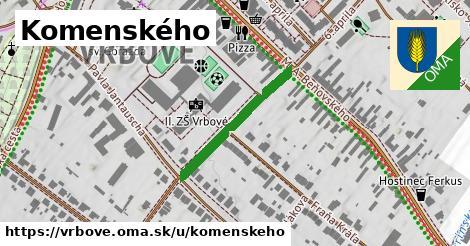 ilustrácia k Komenského, Vrbové - 248m