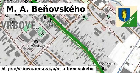 ilustrácia k M. A. Beňovského, Vrbové - 0,79km