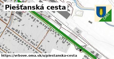 ilustračný obrázok k Piešťanská cesta, Vrbové