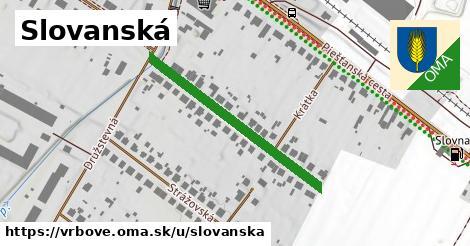 ilustračný obrázok k Slovanská, Vrbové